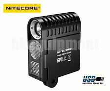 NiteCore GP3 Action Camera Video Photo USB Rechargeable GoPro Light+Diffuser