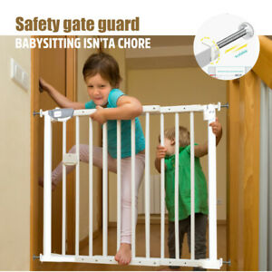 Adjustable Baby Security Gate Door 78CM Pet Child Safety Stair Barrier Extension