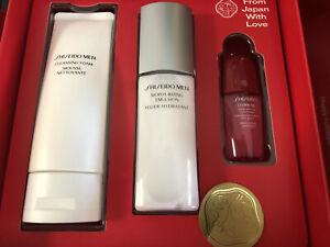 Shiseido His Energizing Kit Men Cleansing Form /Moisturizing Emulsion Gift Box