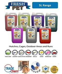 5L FRESH PET Rodent Specialist Cleaner - Rabbit Hutch, Cage, Runs & Hamster