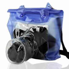 Waterproof 20M DSLR SLR Camera Bag Shoulder Case For Canon EOS Nikon Sony New