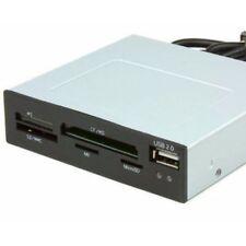 Astrotek 3.5' inch Internal Card Reader Black USB2.0 Hub CF MS SD Flash Memor AU