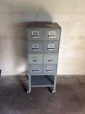 Schubladenschrank Loft Vintage IndustrieDesign Antik Werkstattschrank Alt Metall
