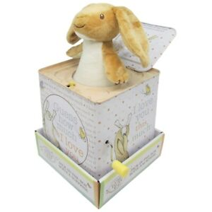Kids Preferred Guess How Much I Love You Nutbrown Hare Jack-in-the-Box - Plays