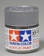 Tamiya XF16 Flat Aluminum 3/4 oz Acrylic Paint Jar 81316 TAM81316
