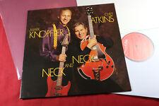 Chet Atkins & Mark Knopfler  NECK AND NECK LP CBS 4674351 Holland 1990 near mint