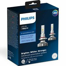 Philips X-treme Ultinon LED Car Headlight Bulbs HB3 / HB4 (Twin) 11005XUWX2