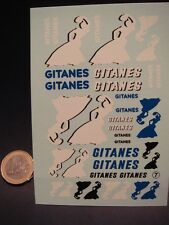 "DECALS 1/24 TABAC "" GITANES "" - VIRAGES T7"