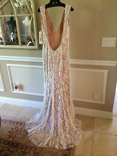 $998 NWT LACE JOVANI PROM/PAGEANT/FORMAL/WEDDING DRESS/GOWN #90897 SIZE 10