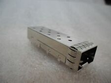 5x Amphenol Ganged SFP Connector Cage 1 Raw Cage 1 Degree Angle Single Port