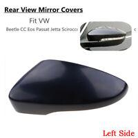 Left Fit VW Beetle CC Passat B7 Jetta IV 4 Scirocco Door Wing Mirror Cover Cap