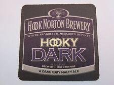 BEER Bar COASTER >*< HOOK NORTON Brewery Hooky Dark >< Brewed in Oxfordshire, UK