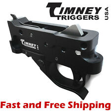 Timney Drop In Competition Trigger Group for Ruger 10/22- Black Housing w/Black