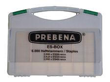Heftklammern Typ ES 6000 Stück Prebena in Handwerker Koffer