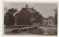 The New Inn Bourton On The Water 1948 RP Postcard  150a