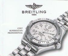 BREITLING COLT SUPEROCEAN PROFESSIONAL ANLEITUNG INSTRUCTIONS A23