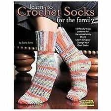 Learn to Crochet Socks for the Family by Darla Sims (2012, Paperback)