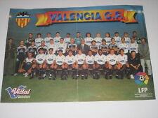 Poster Futbol VALENCIA C. F.Temporada 1996 - 1997. Liga Profesional de Futbol