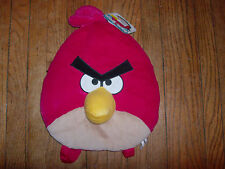 "Angry Birds Red Bird Plush Back Pack Size 14"" Officially Licensed Rovio"