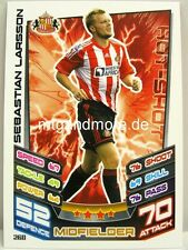 Match Attax 2012/13 Premier League - #260 Sebastian Larsson - Sunderland