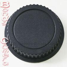Plastic Rear Lens Cap Cover for Canon EOS Auto Focus EF EF-S Mount Lens black