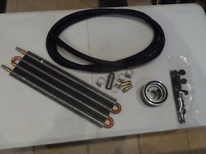 "Flex-a-lite Engine Oil Cooler Kit 5"" x 20"" x 3/4"" Hot Rod GM Truck Chevy 3952"
