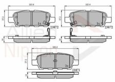 Nissan Qashqai 07> Hintere Bremsbeläge Alle Modelle
