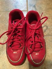 Youth Nike Baseball Cleats Size 13 Red