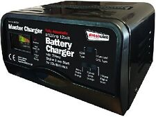 HEAVY DUTY Car 12v battery charger Heavy duty METAL CASE  jump start booster 75A