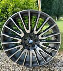 """BMW set 21"""" Style 629 Orbit Gray, for 7 Series 2013-2021. Front 21x8.5 R- 21x10"""