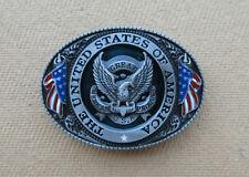 Boucle pour ceinture américaine Aigle USA, biker, western, country.