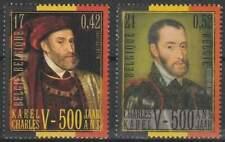 België postfris 2000 MNH 2938-2939 - Keizer Karel V