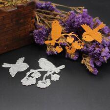 Metal Bird Cutting Dies Stencil Scrapbook DIY Album Paper Card Craft Decor Gift