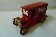 COCA COLA 1:24 FORD MODEL T 1917 ROSSO RED  ART 448832