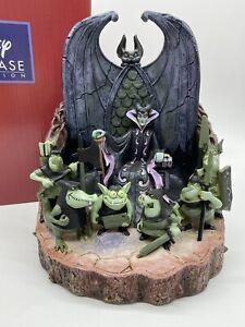 "Jim Shore Disney Traditions Maleficent ""Forces Of Evil"" Rare Enesco Figurine 8"""