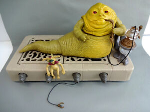 Vintage Star Wars 1983 Jabba the Hutt Playset Complete & in Near Mint Condition