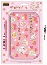 Nintendo Official Kawaii 3DS XL Soft Case -Piggy Girl- With Tracking
