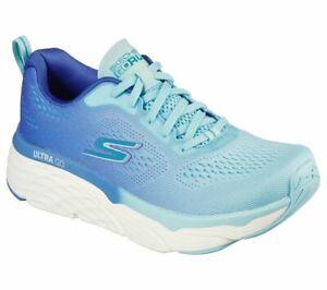 2021 Skechers Blue Max Cushioning Shoes Memory Foam Women's Sport Soft Comfort