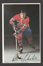 1971-72  MONTREAL CANADIENS POSTCARDS  PETE MAHOVLICH   INV  J7364