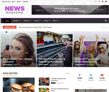 News Magazine Wordpress Website - With Demo Content Included