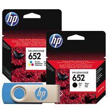 HP original 652 Black+ Color Ink Cartridges 4535 3635 1115 2135 4675 3835