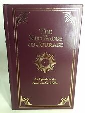 The Red Badge of Courage Episode in the American Civil War Book Stephen Crane LN