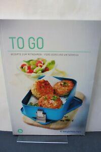 WW Weight Watchers ProPoints Kochbuch To Go - Rezepte zum Mitnehmen