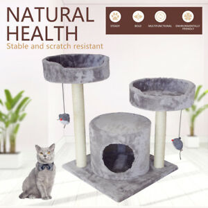 Cat Tree Scratching Post Pet Scratcher Trees Tower Pole Gym Condo Furniture