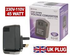 Bajar CONVERTIDOR DE VOLTAJE 240V - 120V 110v 45VA Watts UK