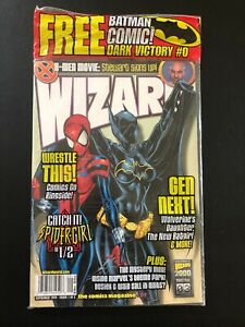 Wizard Comic Magazine #97 September 1999 New Batgirl & Spidergirl Cover *Sealed*
