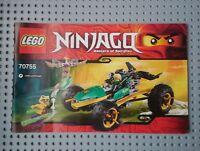 Lego Instructions 70755 Ninjago: Jungle Raider. MANUAL ONLY