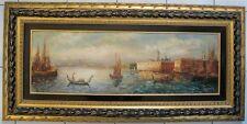 2694* huile sur toile robert mogisse (1933) le grand canal venise