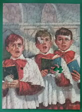 Tuco 1950's Vintage Picture Puzzle Boys Choir Black Eyes All is Forgiven Bianchi