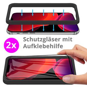 iPhone 12 | 12 PRO | MAX Mini Panzerfolie Schutzglas 9H Hartglas Displayfolie
